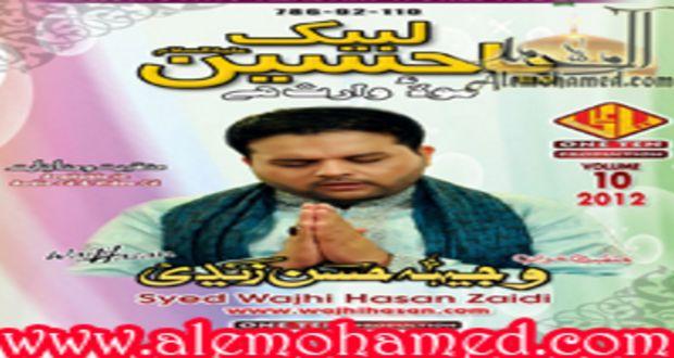 Wajhi-Ul-Hasan Zaidi 2012-13