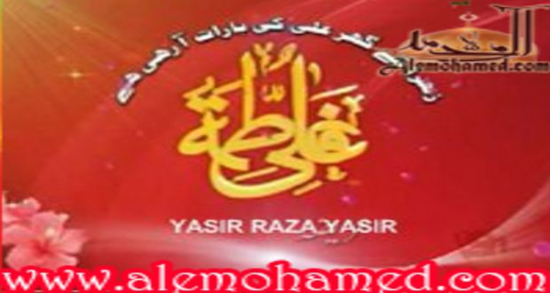Yasir Raza Yasir 2012-13