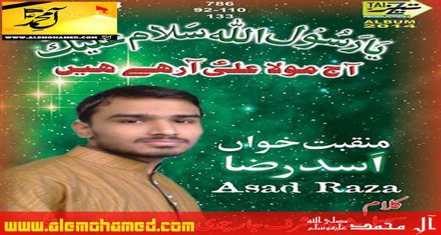 Asad Raza 2014-15