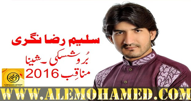 Saleem Raza Nagri Manqabat 2016-17