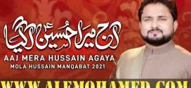 Raza Abbas Zaidi Manqabat 2021-22
