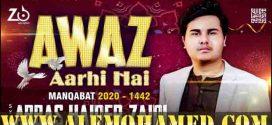 Abbas Haider Zaidi Manqabat 2021-22